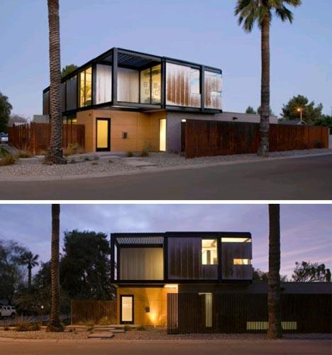 casa moderna simple diseno001 Simplemente Moderna: Linda Casa modular, Diseño y Decoración