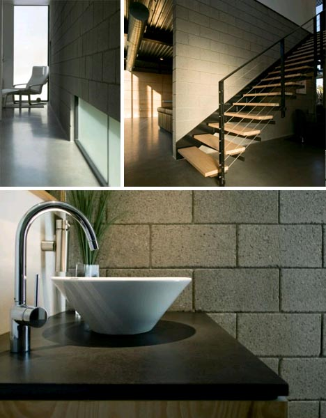 casa moderna simple diseno002 Simplemente Moderna: Linda Casa modular, Diseño y Decoración