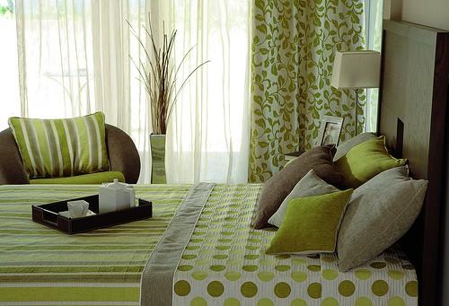 la combinación de colores tanto de las paredes y cuadros como de
