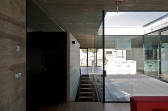 Interiores diafanos casa Pocafarina, casa en Girona, España