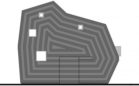 Curiosa Casa Piruleta Planos