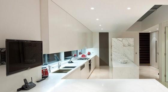 Casas Modernas en Australia Interiores