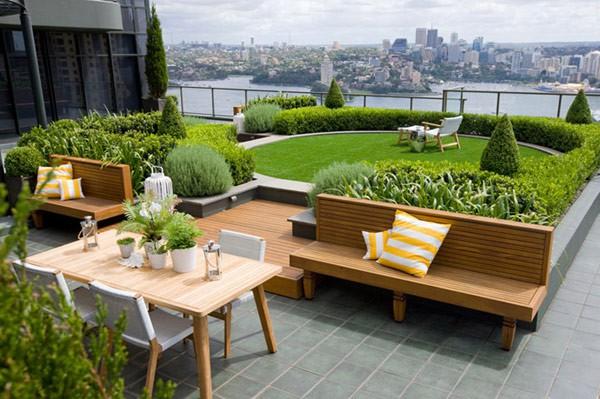 Imagen de jardines para edificios