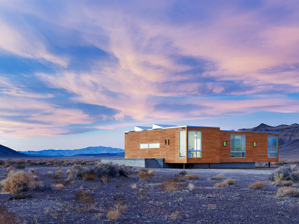 ¿Casa de vacaciones en el desierto?