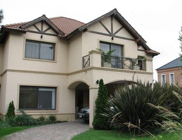 Imagen de fachadas de casas de dos plantas (1)