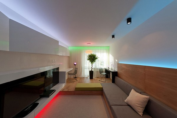 sistemas de iluminacin digital para casas y empresas
