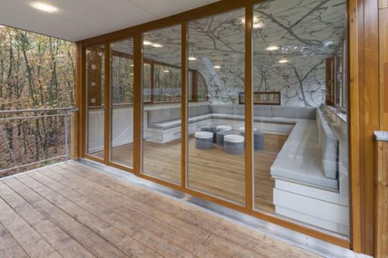 Casa de árbol en Bélgica para adultos (16)