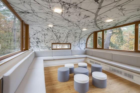 Casa de árbol en Bélgica para adultos (14)