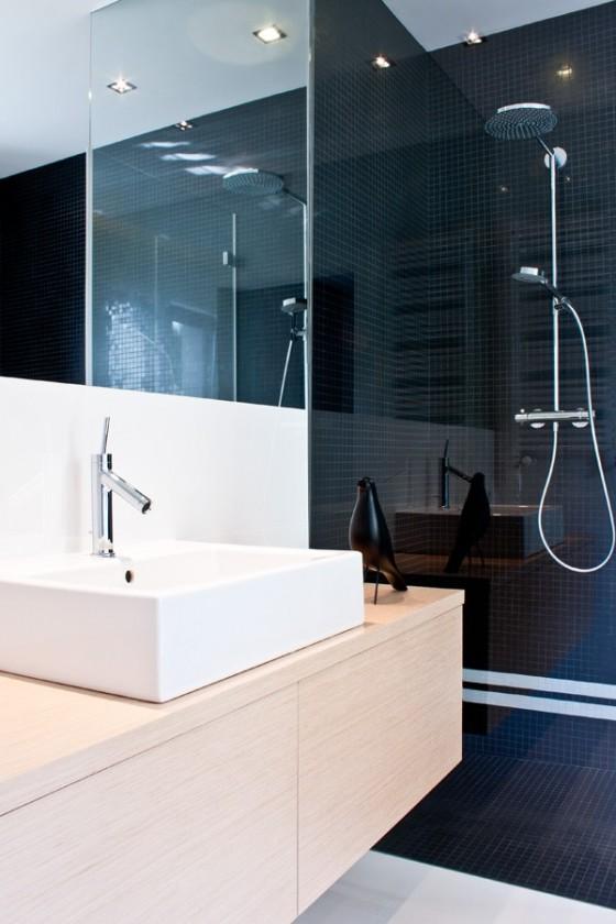 Diseño de interiores minimalista en casa de Polonia (1)