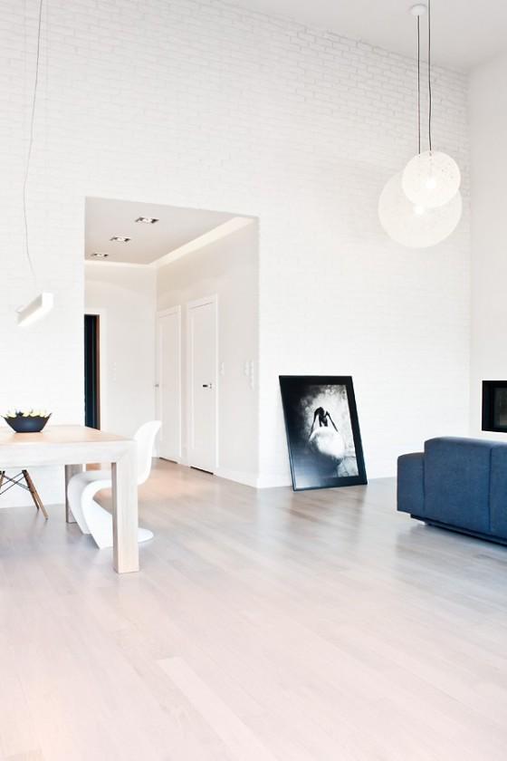 Diseño de interiores minimalista en casa de Polonia (8)