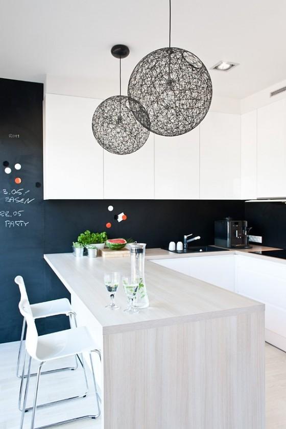 Diseño de interiores minimalista en casa de Polonia (5)