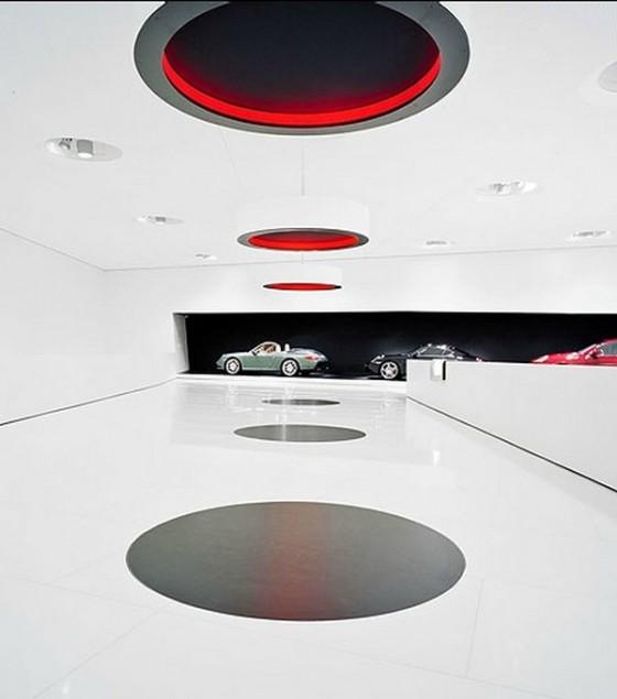Edificio futurista museo del Porsche (11)