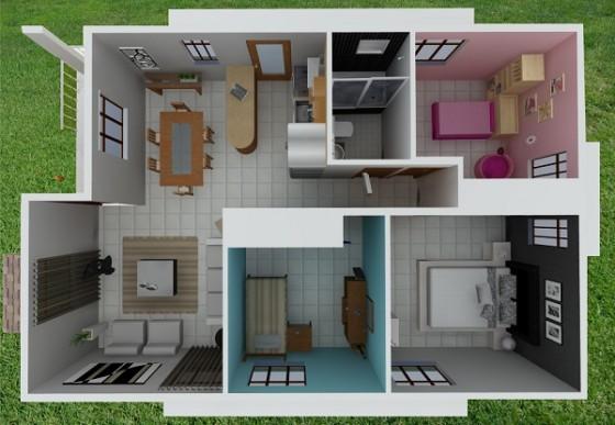 Planos de Casas masso modelo alegría