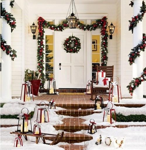 Decorando su fachada para esta navidad (3)