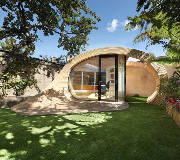 Oficina en el jardín para casas ruidosas (6)