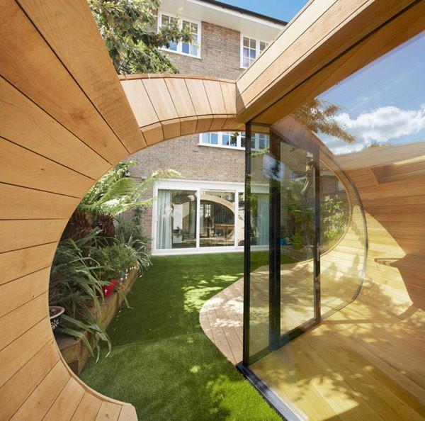 Oficina en el jardín para casas ruidosas (3)