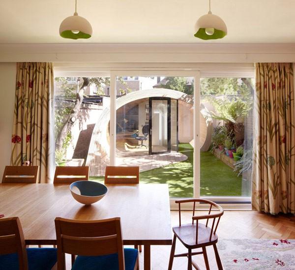 Oficina en el jardín para casas ruidosas (2)