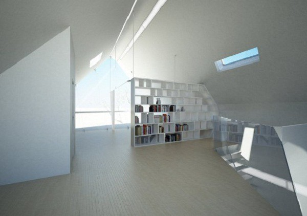 Diseño futurístico en California – La casa enrollada (9)