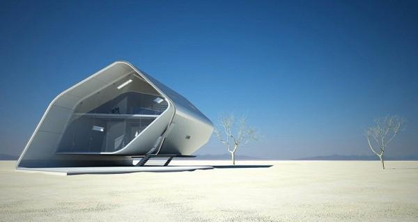 Diseño futurístico en California – La casa enrollada (7)
