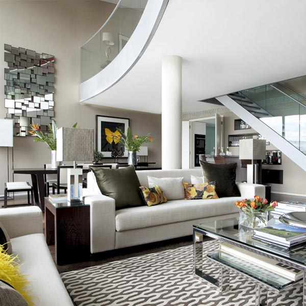 de decoración para interiores de casas modernas aquí en mundocasas