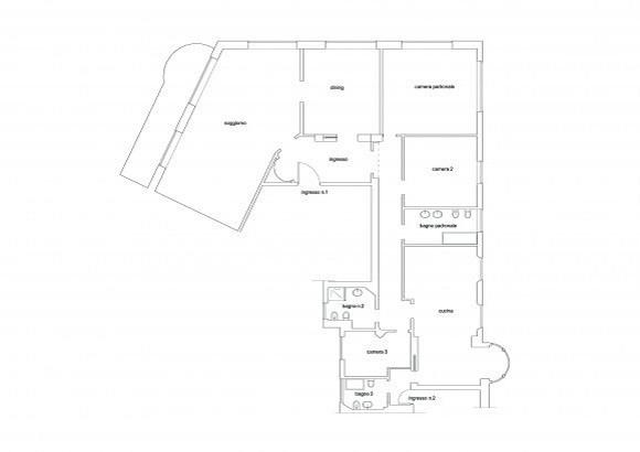 Apartamento italiano el apartamento Celio con planos incluidos (9)