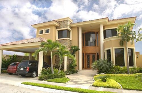 Fachadas de casas lujosas la verdadera comodidad (5)