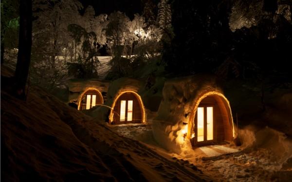 Vivir en la nieve – Casas para habitar en la nieve (4)