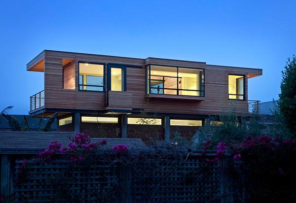 Casa moderna de madera a prueba de inundaciones by peek ancona (11)