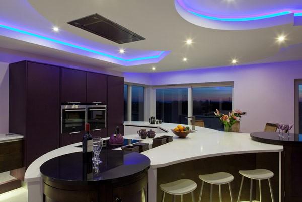 Iluminacion De Cocinas Modernas 4 Mundo Casascom - Iluminacion-en-cocinas-modernas