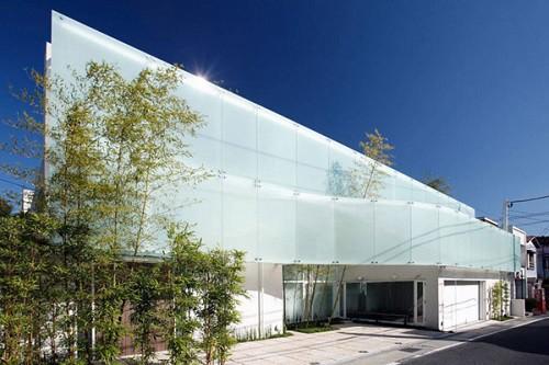 Fachadas de casas minimalistas en Japon