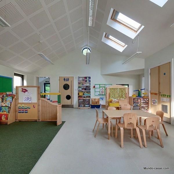 Colegio infantil St Mary's en el Reino Unido