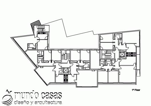 Edificio Residencial Vila Nova de Tazem creado por Nuno Ladeiro y Marco Martins (1)