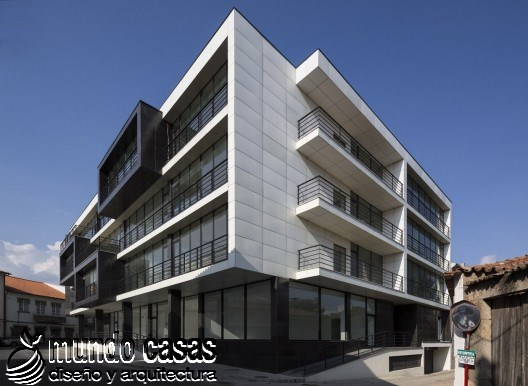 Edificio Residencial Vila Nova de Tazem creado por Nuno Ladeiro y Marco Martins (6)