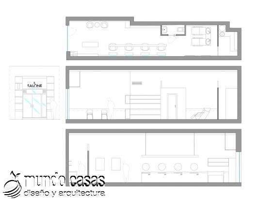 Il Salone hecho por Egue y Seta arquitectos (1)