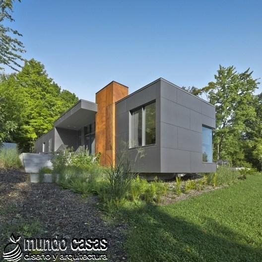 T-House por Natalie Dionne Architecture (3)
