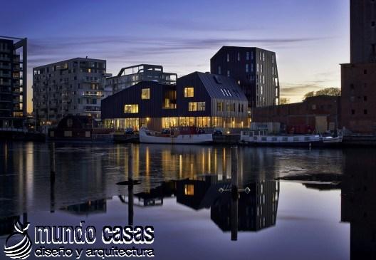 Casa North Atlantic  Cornelius + Vöge en Odense, Dinamarca (1)