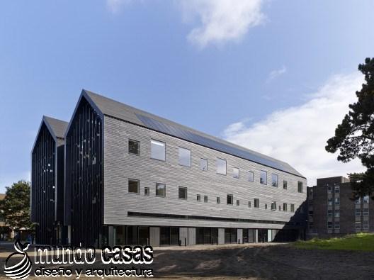 Edificio de artes en la universidad City College en Norwich por BDP arquitectos (4)