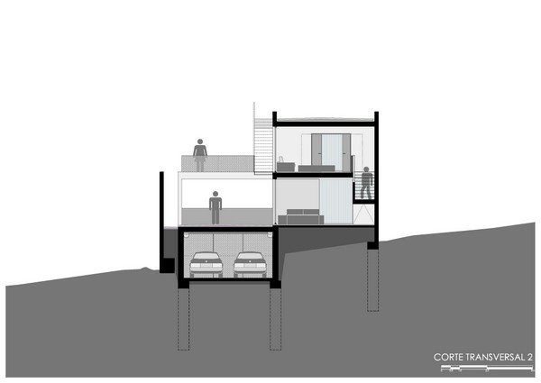 Construcción económica en México logra espacios ámplios y fínamente detallados - Casa IPE  P+0