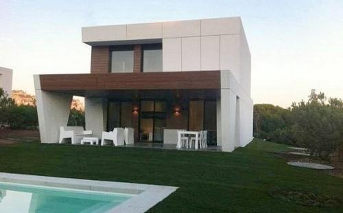 Construcción de casas en tan solo diez horas en Madridk