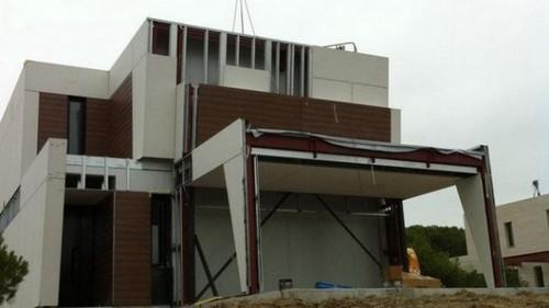 Construcción de casas en tan solo diez horas en Madrid