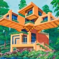 Diseños futurísticos coreanos de residencias y edificios - Comisiones para la Utopía