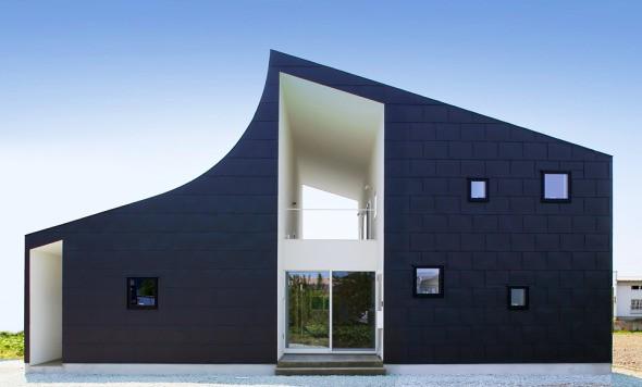 35 fotos de una exclusiva casa moderna japonesa
