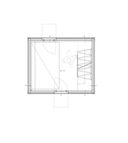 Planos de la homebox casa de madera de tres pisos en terreno pequeño (1)