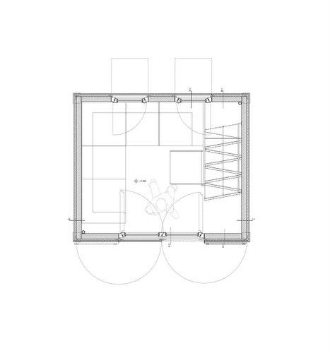 Planos de la homebox casa de madera de tres pisos en terreno pequeño (3)