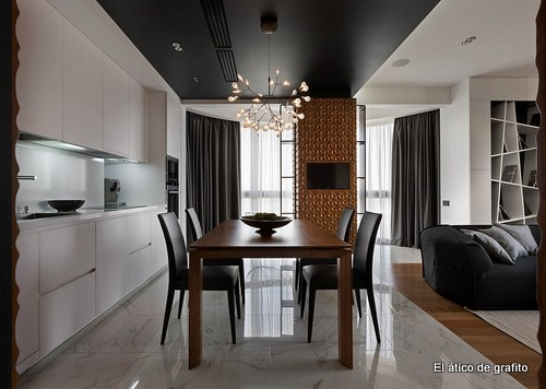 Interiores de penthouse ubicado en Kiev (10)