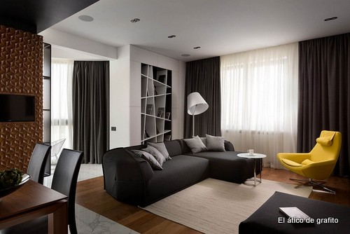 Interiores de penthouse ubicado en Kiev (11)