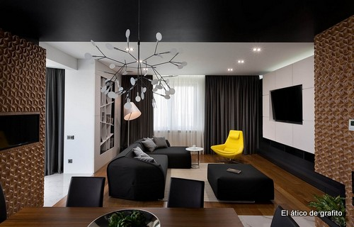 Interiores de penthouse ubicado en Kiev (12)