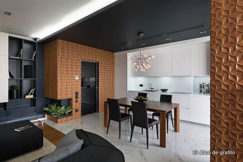 Interiores de penthouse ubicado en Kiev (14)