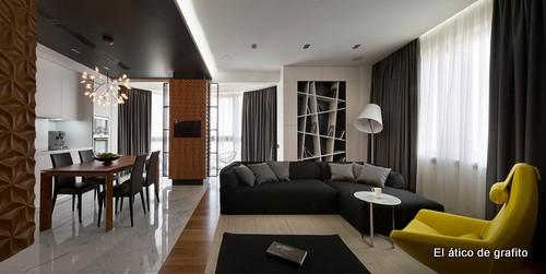 Interiores de penthouse ubicado en Kiev (9)