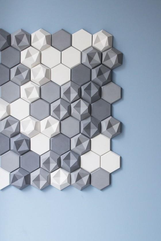 Azulejos de concreto hexagonales (2)